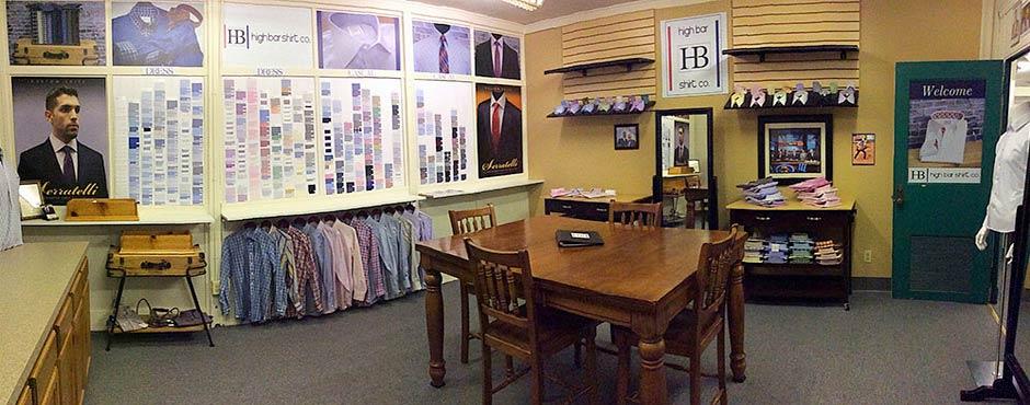 High Bar Shirt Factory Show Room